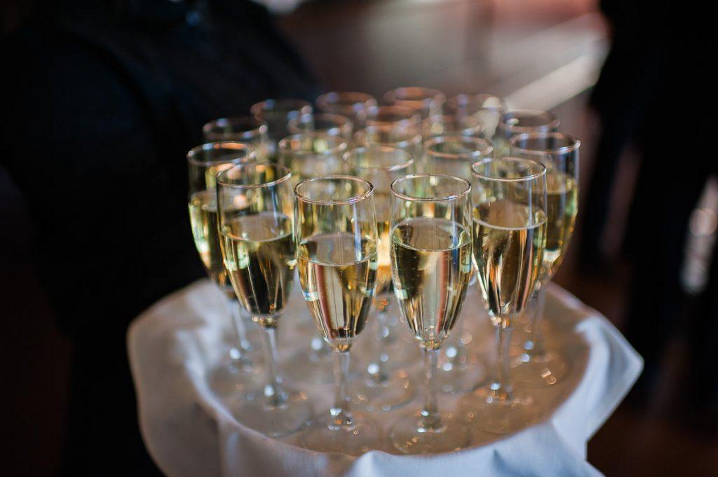 coupe de champagne celebration mariage