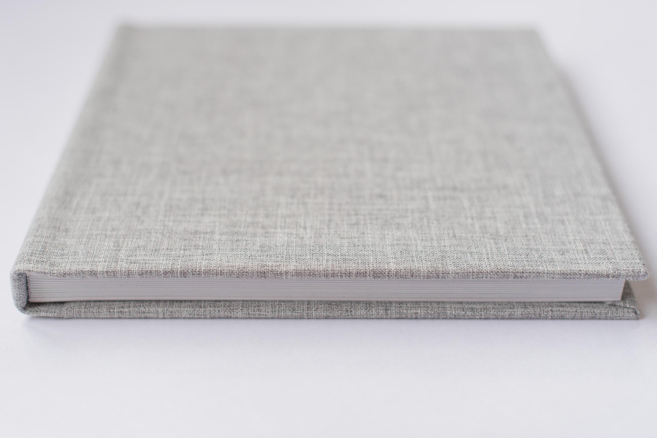 album professionnel lin vintage gris page cartonne gta imaging