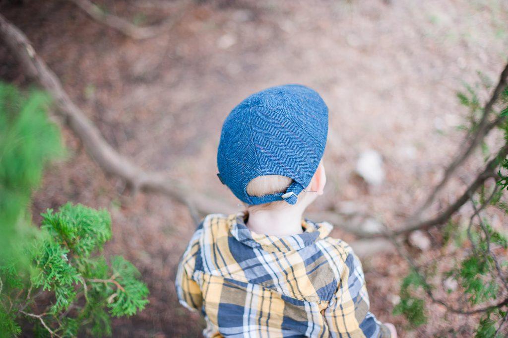 garcon casquette nature session de photographie