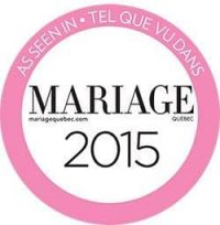 tel que vu- as seen in magazine mariage quebec 2015