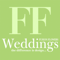 logo fusion flowers weddings magazine