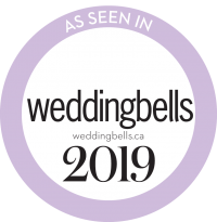 logo as seen in wedding bells blog