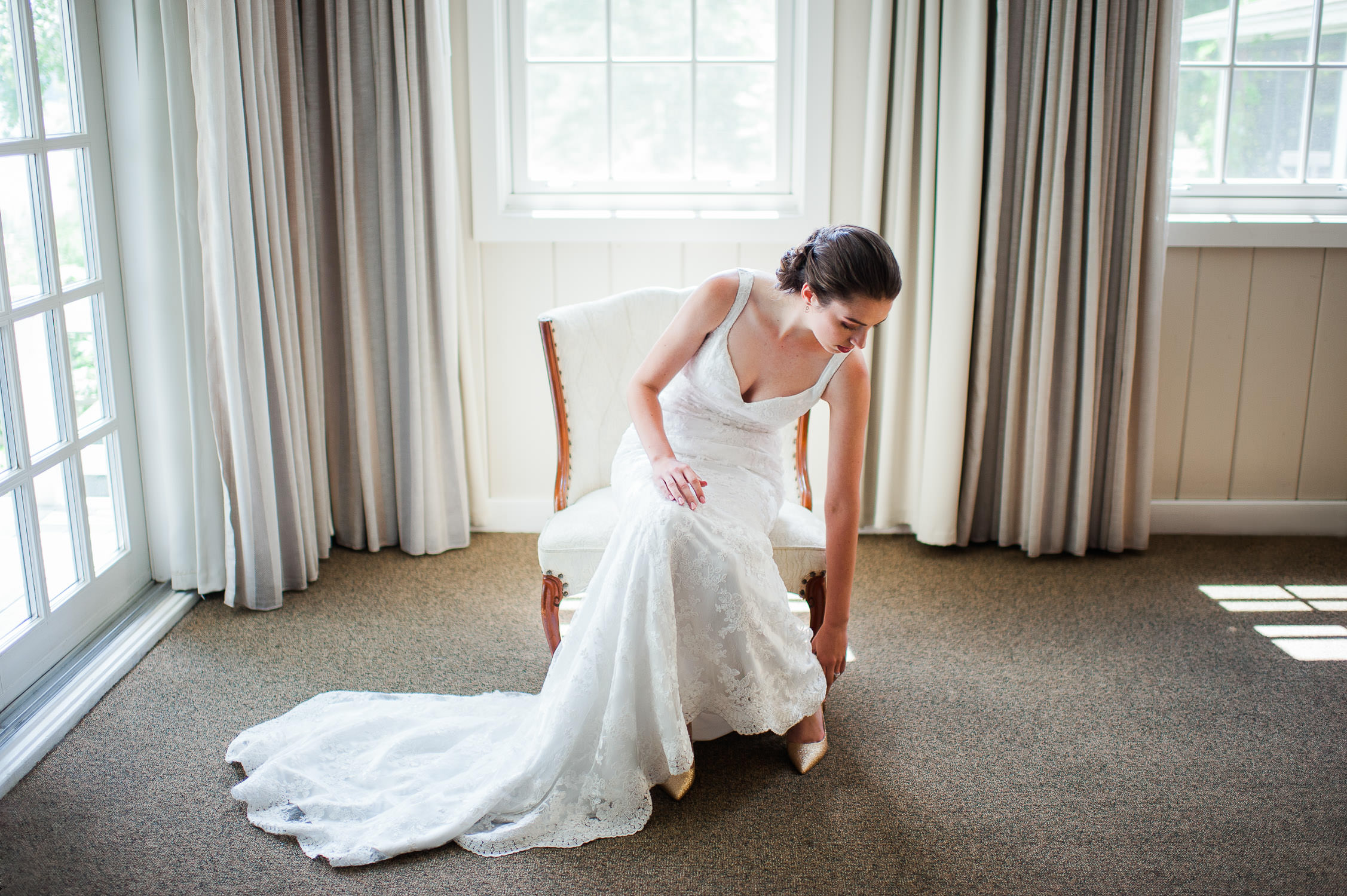 romantic wedding easthern township quebec