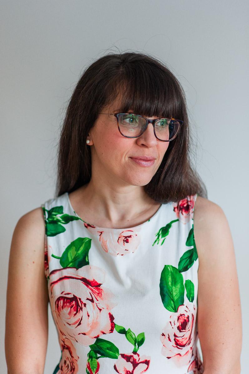 portrait de nadine gregoire photographe