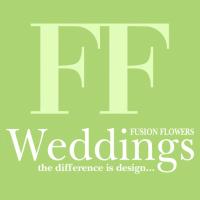 logo fusion flowers weddings magazine