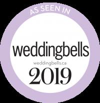 logo as seen in wedding bells blog